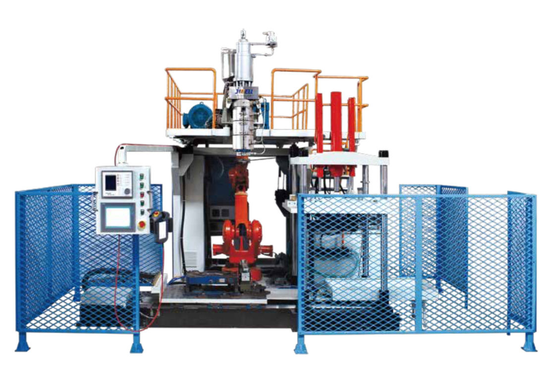 3D Blow Molding Equipment Fully Automatic Strong Strength Toggle Struction Auto Lubrication